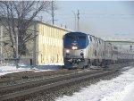 Amtrak 160 at work