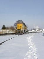 US Rail heads south