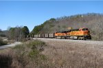 BNSF 6187 leads 738 up Braswell