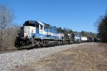 GMTX 9016 leads a all SD60 consist down Braswell.