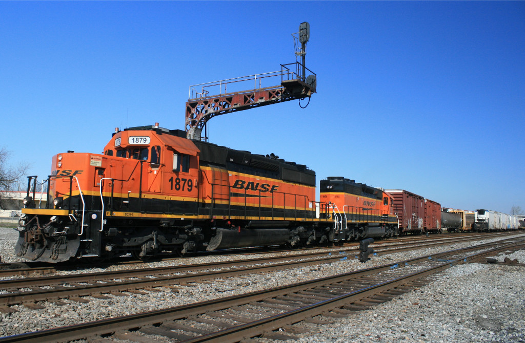BNSF 1879/BN Transfer