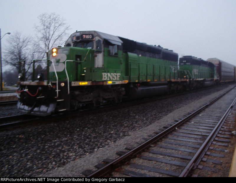 BNSF 7160 AND BNSF 7802