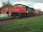CN 5778,SD 75I & 2548,C-44-9,E.B ON MT CLEMENS SUB AT NEW HAVEN MI