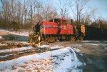 A small locomotive