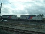NJ Transit GP40s