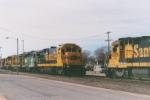 BNSF 4248 & BNSF 8606