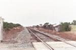 UP Grain Train derailment site
