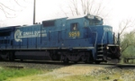 CSX 5959 Still in ConRail livery at Fogg