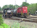 C-424 18 and Norfolk Southern GP38-2 5621 Side By Side