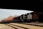 BNSF 6613 West Lurking In The Shadows