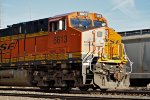 BNSF 6613 West, Cab-Shot