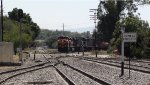 KCSM train entering Empalme yard