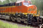 BNSF 7764 On Timber Rock