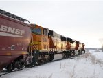 BNSF 8860 Into the Sunrise