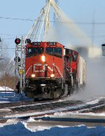 CN 2618 at Ingersoll