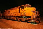 UP #7706 at night