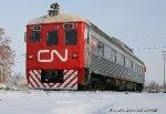 CN test track car