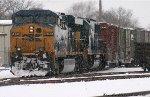 CSX in the snow