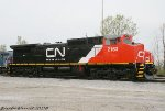 Brand new CN #2163 at Effingham