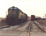 CSX Rail Train