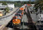 BNSF 7819 leads an intermodal