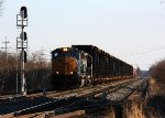 CSX 4729 leads Q234 with lots of autoframes north