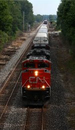 CN 8940 leads Q149 under the old Wabash