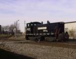 NS 2202 (sw1500) At Oakstreet In Louisville Ky