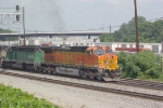 BNSF 5171 leaving the NS Inman Yard