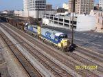 Northbound CSX work train