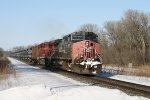 SP 192 Leads an Eastbound Crude Oil Train