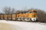 BNSF Coal Train is Eastbound