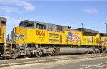 UP 8661 (SD70ACe). West Colton CA. 1/5/2011