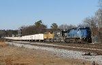 NS 8457 ex-LMS leading 251 past Parott Avenue
