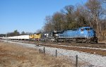 NS 8457 ex-LMS leading 251 with a colorful consist