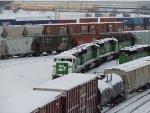 A few BNSF in Northtown Yard