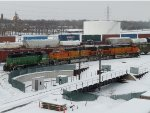 A few more BNSF in Northtown Yard