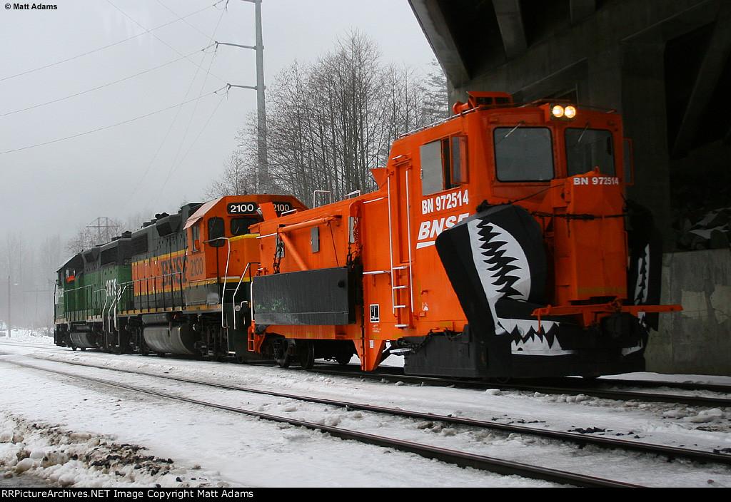 BN 972514 Snow Dozer