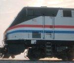 Side Detail of Amtrak #145