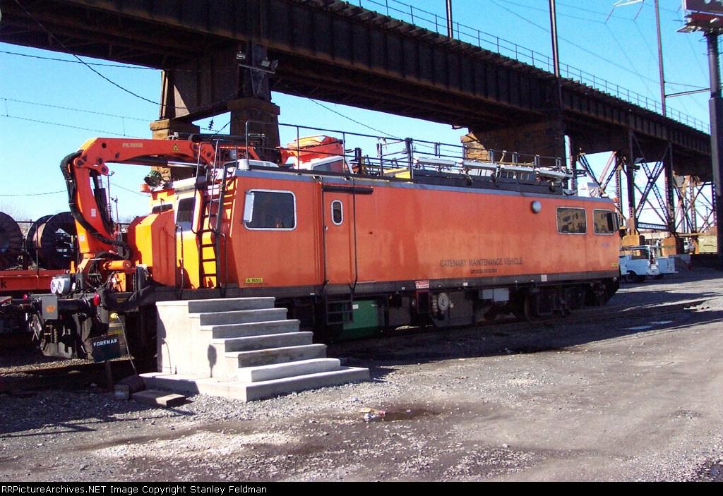 AMTK Catenary Maintenance Vehicle 16515. 02/02/2002