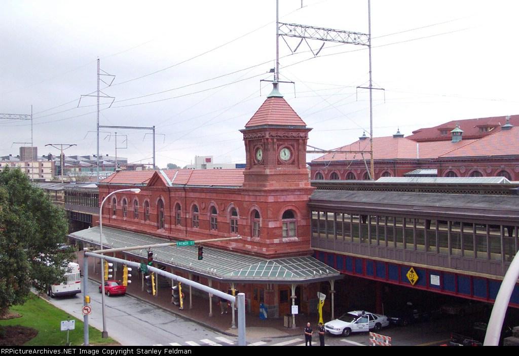 Amtrak's Historic Wilmington Station.  9/27/03