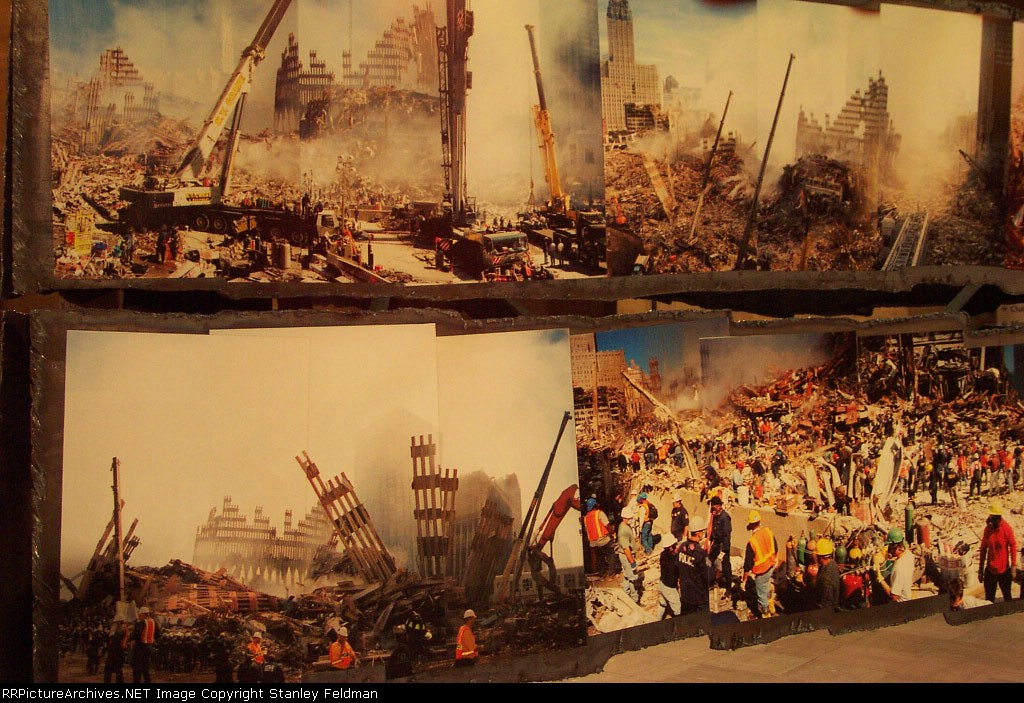 One close-up of the Images on the 9-11 Display