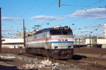 Amtrak E-60 605 at Penn Coach Yard, Philadelphia, Pennsylvania