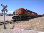 Railway Coahuila-Durango at the first railroad crossing