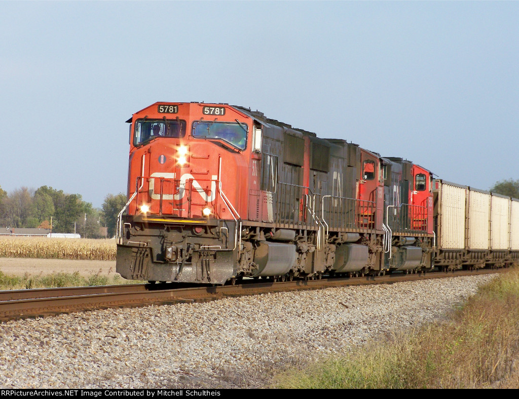 NS 437 Led By CN #5781