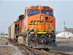 BNSF #6213 Pushing A Northbound Coal
