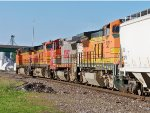 BNSF Engines Numbers 527, 557, 4128, And 4133