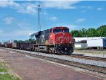 CN #2228 Pulling A Northbound Mixed Freight