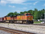 BNSF #5340 And BNSF #4692