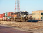NS #9956 And BNSF #1090 Leading The 223